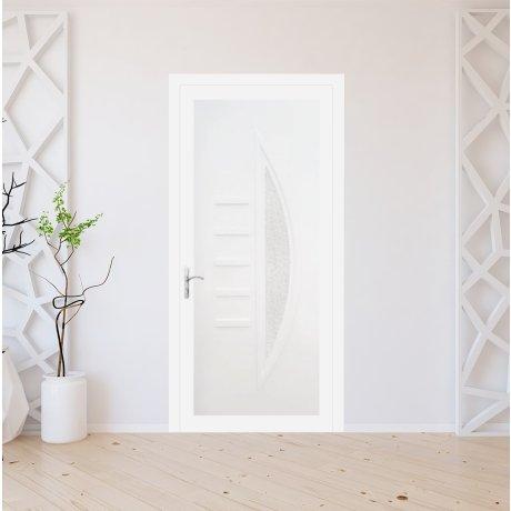 Porte d'entrée PVC sur mesure modèle 2811