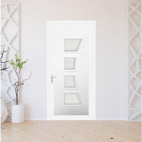 Porte d'entrée PVC sur mesure modèle 3511