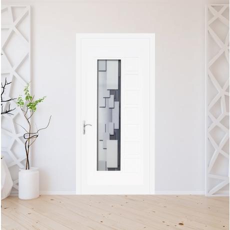 Porte d'entrée PVC sur mesure modèle 8013