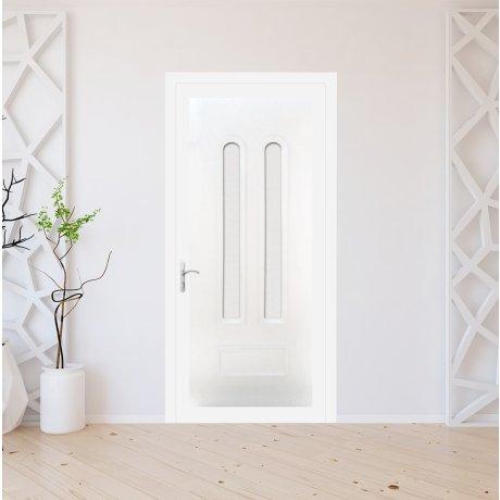 Porte d'entrée PVC sur mesure modèle 9010
