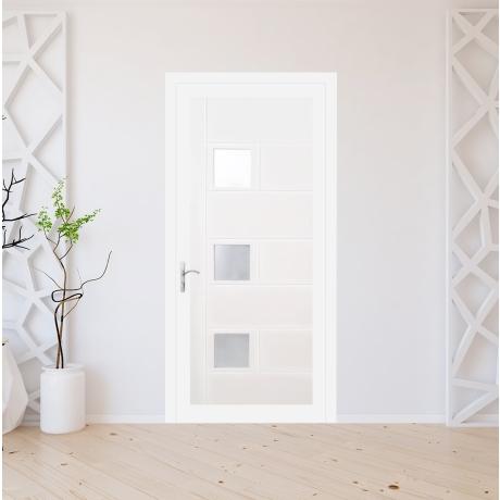 Porte d'entrée PVC modèle 9020