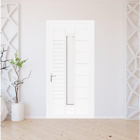 Porte d'entrée PVC sur mesure modèle 9030