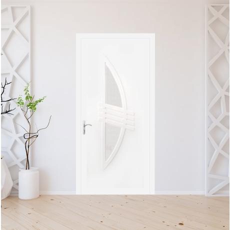 Porte d'entrée PVC sur mesure modèle 9040