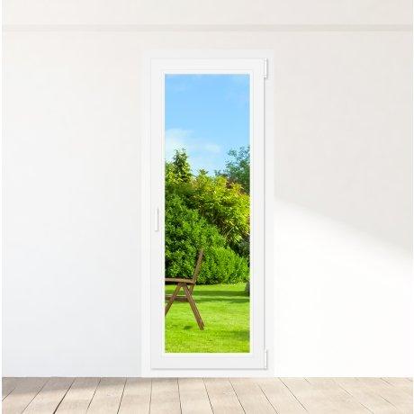 Porte-fenêtre PVC 1 vantail - sur mesure