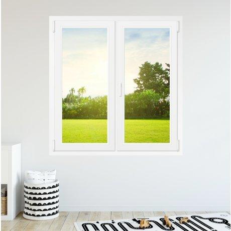 Fenêtre PVC 2 vantaux - sur mesure